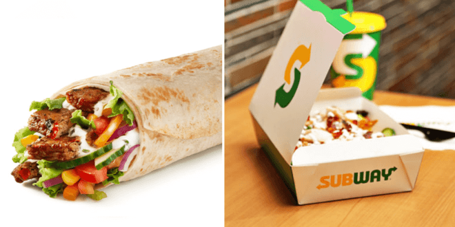 More vegan choices and new sustainable packaging on Subway menu