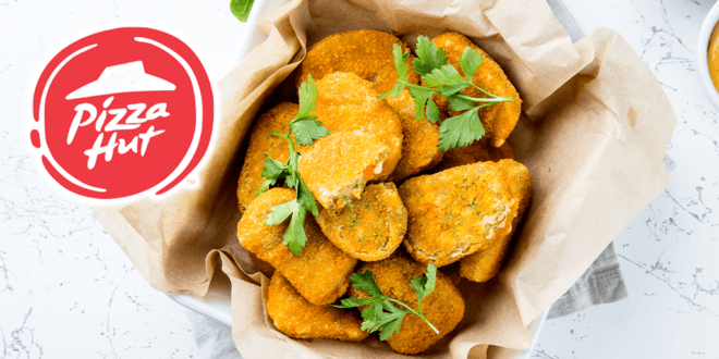 PizzaHut Australia vegan chicken nuggets