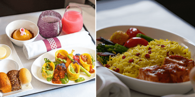 Qatar Airways launches first fully vegan menu for premium pax