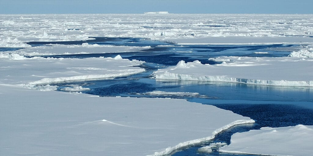 Scientists warn of 'frightening milestone' as Arctic sea ice yet to freeze