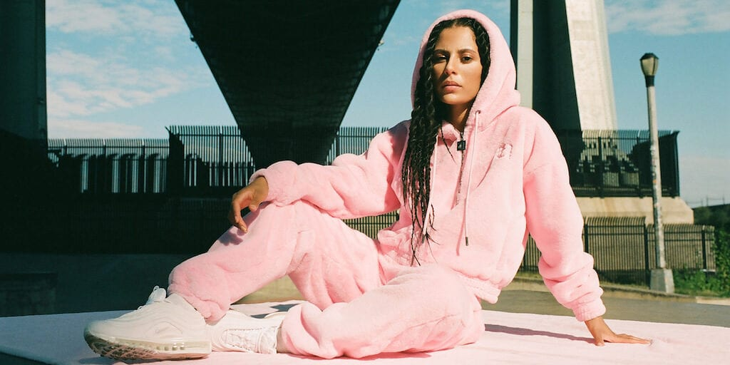 Vegan brand Apparis give Juicy Couture's iconic tracksuit a sustainable twist