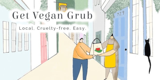 Get Vegan Grub a cruelty-free alternative to Deliveroo, Just Eat, and Uber Eats