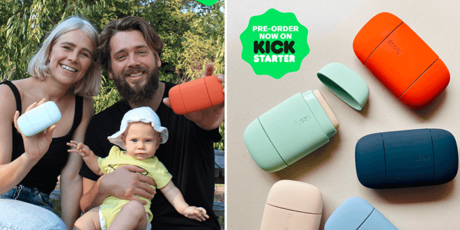 100% vegan refillable deodorant 'fussy' available for preorder