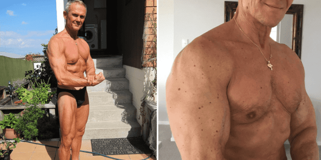 65-year-old vegan bodybuilder credits plant-based diet for 'very good shape'