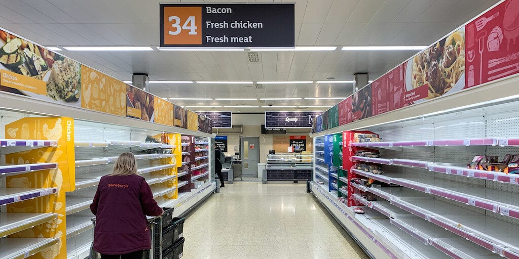All meat & fish counters to be shut at Sainsbury's as pandemic continues