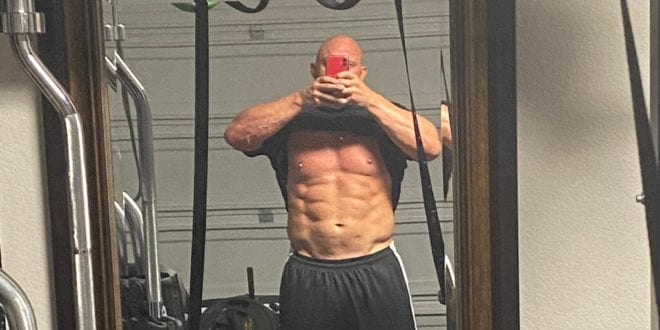 Former WWE wrestler Ryback shows off shredded physique after going 'vegan for 7 weeks'