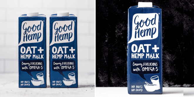 Good Hemp launches oat- hemp milk combo 'that never ever splits'