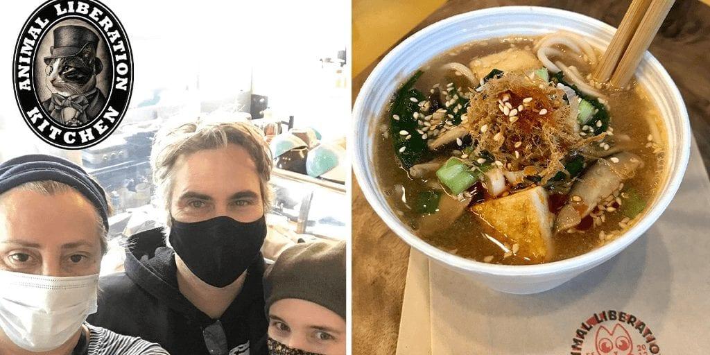 Joaquin Phoenix and Rooney Mara drop by Toronto restaurant to just compliment vegan menu
