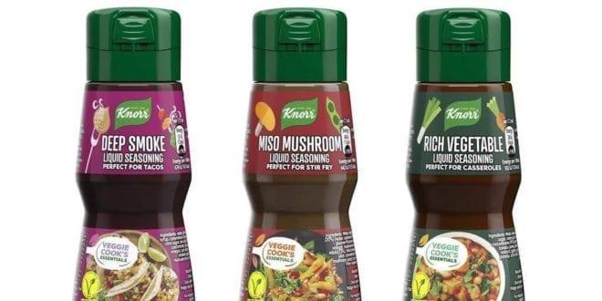 Knorr to launch first-ever vegan liquid seasoning range