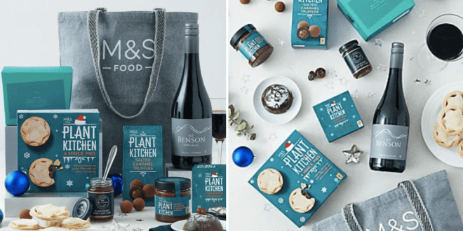 M&S launches vegan food gift bag for Christmas