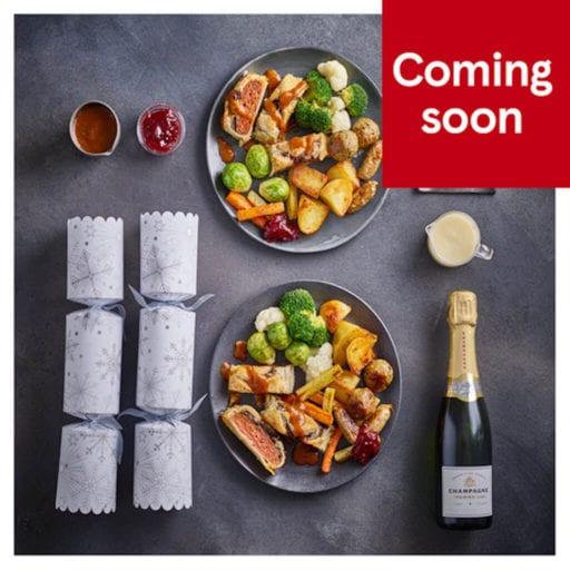 Tesco launches 15 vegan-item dinner box for Christmas