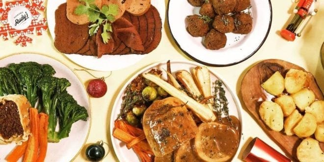 UK's first permanent vegan butcher launches vegan Christmas festive meat box at £13.75 per head