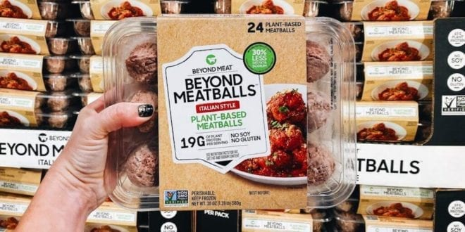 Beyond meatballs just launched at Costco outlets in the US