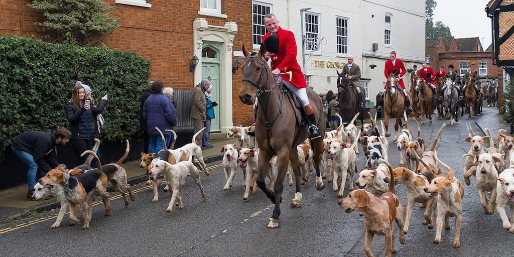 Boxing Day hunts go ahead despite stringent COVID restrictions UK