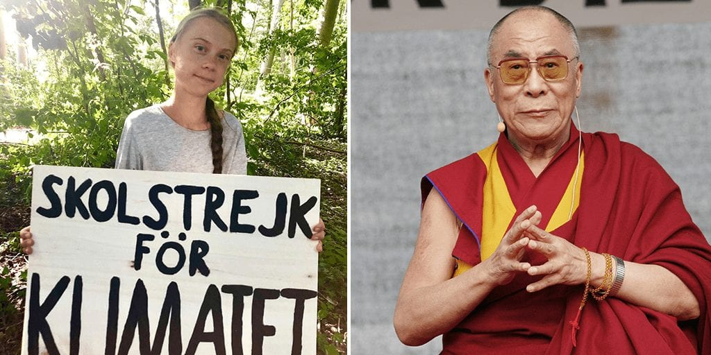 Dalai Lama and Greta Thunberg to discuss steps to combat climate change in upcoming event