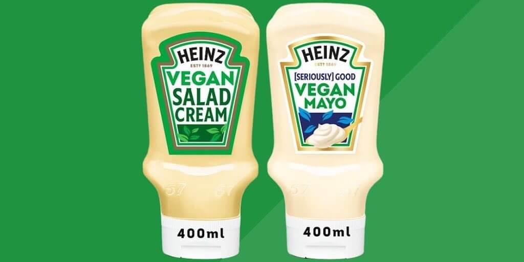 Heinz launches vegan mayo and salad cream