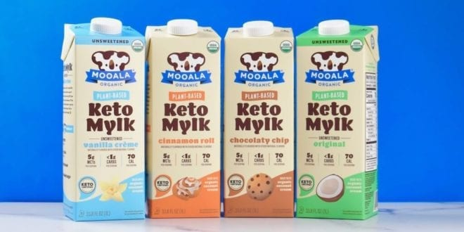 Mooala just launched world's first ever vegan keto milk