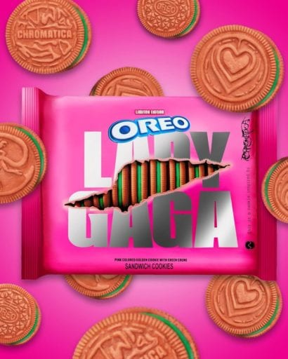 New Lady Gaga inspired vegan cookies are launched by Oreo