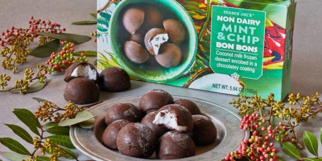 New dairy-free mint chocolate bon bons launched at Trader Joe's