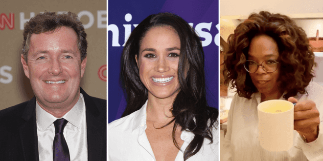 Piers Morgan blasts Meghan Markle for using celeb connections to promote vegan latte brand