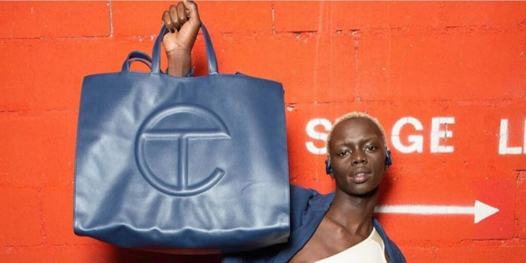 Black-owned fashion label Telfar wins popular award for vegan shopping bag