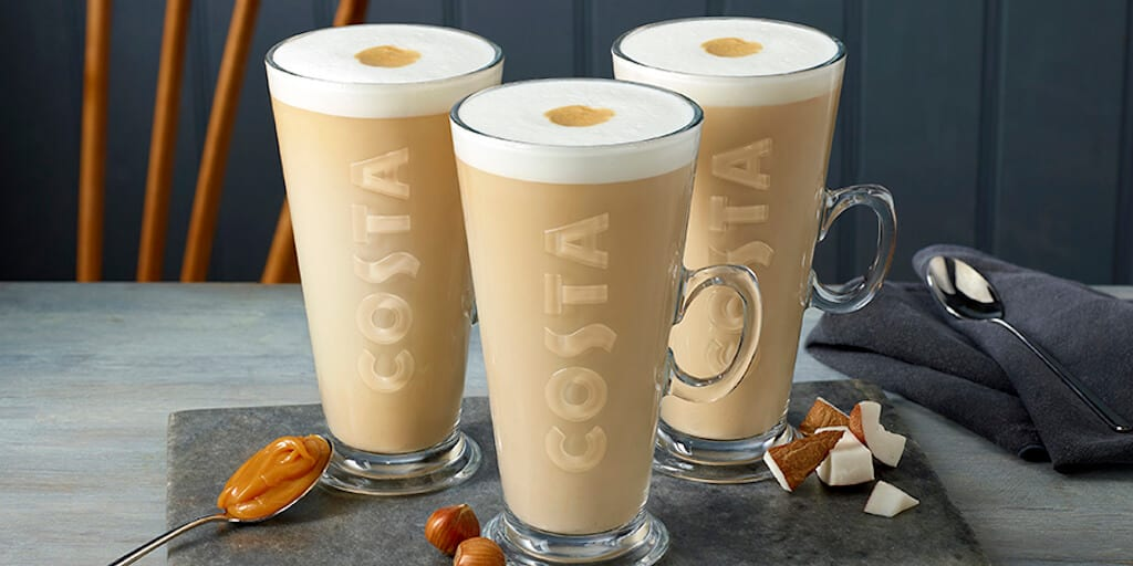 Costa just launched its 'most innovative' vegan latte range in the UK