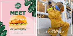 Fast-food chain backed by Lewis Hamilton launches UK's first vegan fish burger