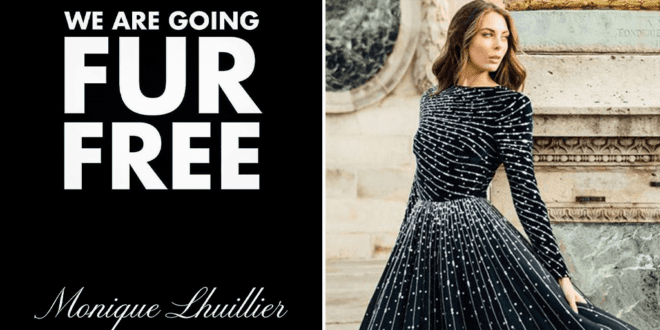 Monique Lhuillier Bans Fur to prove 'future of fashion is vegan'