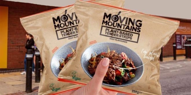 Moving Mountains just launched vegan 'beef' tender strips in UK