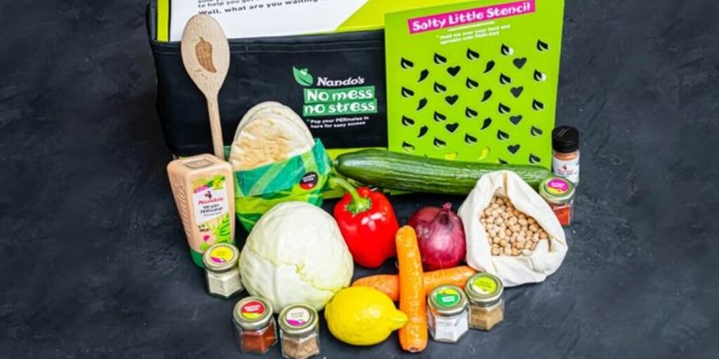 Nando's launches first-ever vegan meal kits to 'flavour up Veganuary
