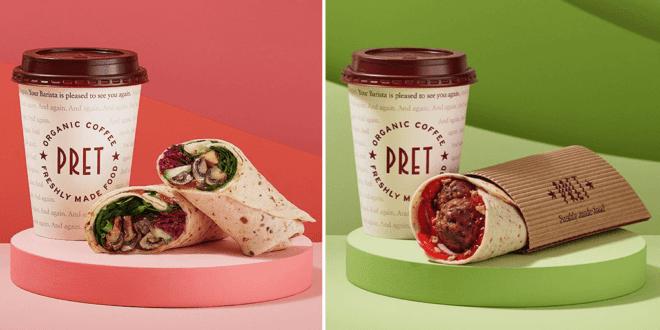 Pret adds nine new vegan items to January menu