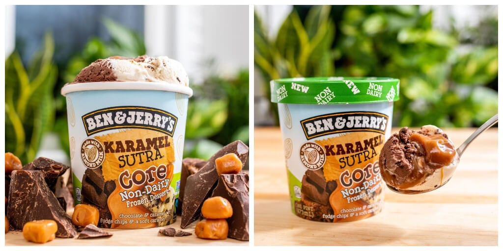Ben & Jerry's just launched a vegan version of its Karamel Sutra Core ice cream