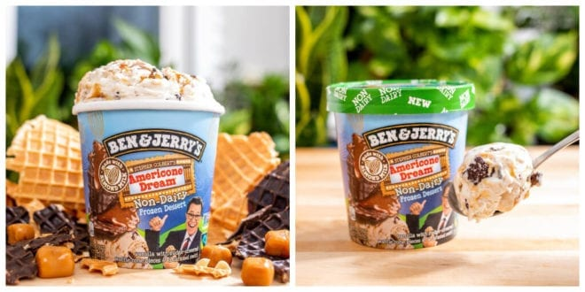 Ben & Jerry's just launched vegan 'AmeriCone Dream' ice cream_TotallyVeganBuzz