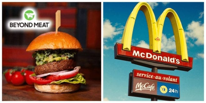 Beyond Meat partners McDonald's to expand McPlant range over the next 3 years