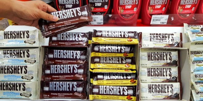 Hershey to launch its first vegan chocolate this year