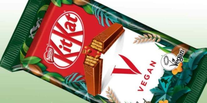 Nestlé officially confirms launch of the vegan 'Kit-Kat V'
