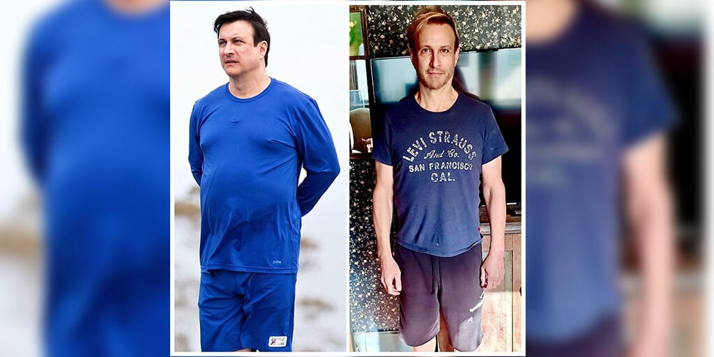 'Perfect Strangers' Star Bronson Pinchot shows off transformation after losing 60lbs on a vegan diet