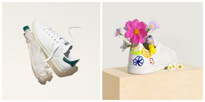 Adidas revamps iconic Stan Smith sneaker using recycled materials as part of sustainability drive