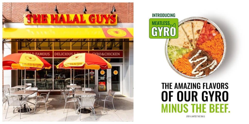 American halal food chain launches vegan gyros with dairy-free tzatziki to meet growing demand