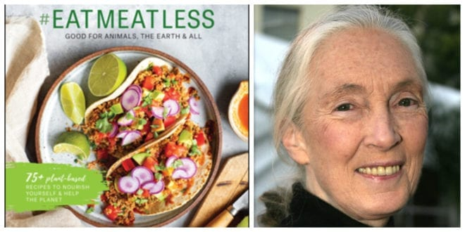 Jane Goodall launches plant-based cookbook to promote animal-free diets