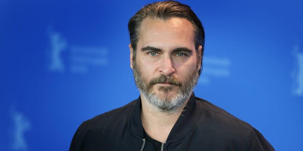 Joaquin Phoenix wears pro-vegan hoodie at Golden Globes 2021