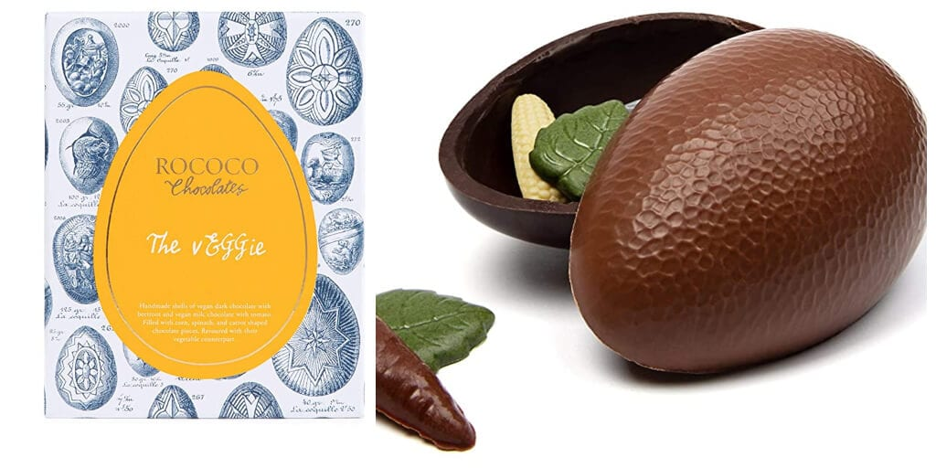 UK chocolatier launches 'one-of-a-kind' vegetable-infused vegan chocolate Easter egg