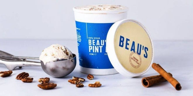 Beau's secures £400,000 to launch UK's first vegan ice cream subscription service and new facility