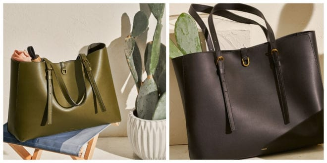 Fossil debuts cactus leather totes and solar-powered watch for earth month