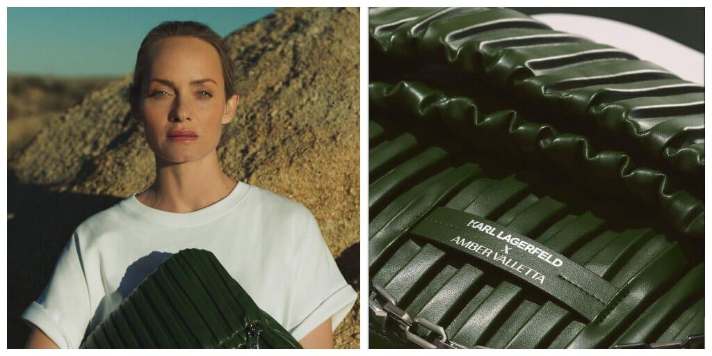 Karl Lagerfeld uses cactus leather for new vegan designer handbag collection.