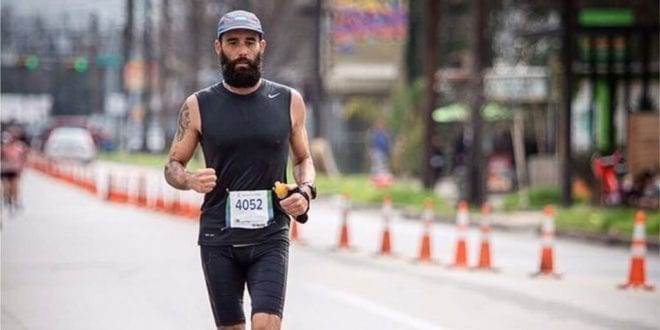 Vegan ultrarunner powers new record with 100-mile run around central park