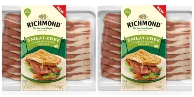 Food giant Richmond adds meat-free rashers to vegan range