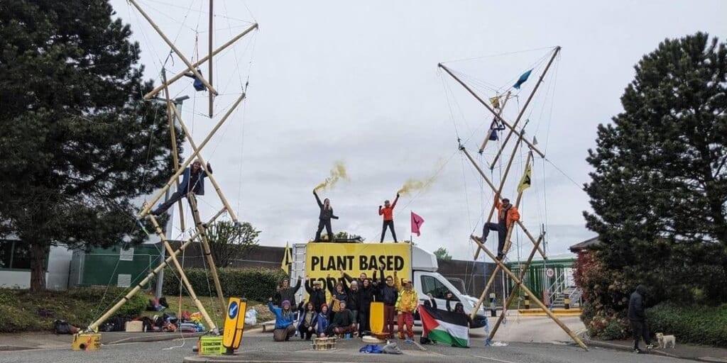 McDonald's faces pressure to go 100% plant-based, activists block distribution centres