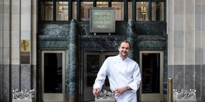 New York's Michelin star restaurant Eleven Madison Park is going 100% plant-based