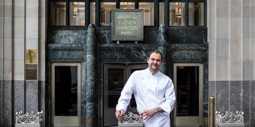 New York's Michelin star restaurant Eleven Madison Park is going 100% plant-based